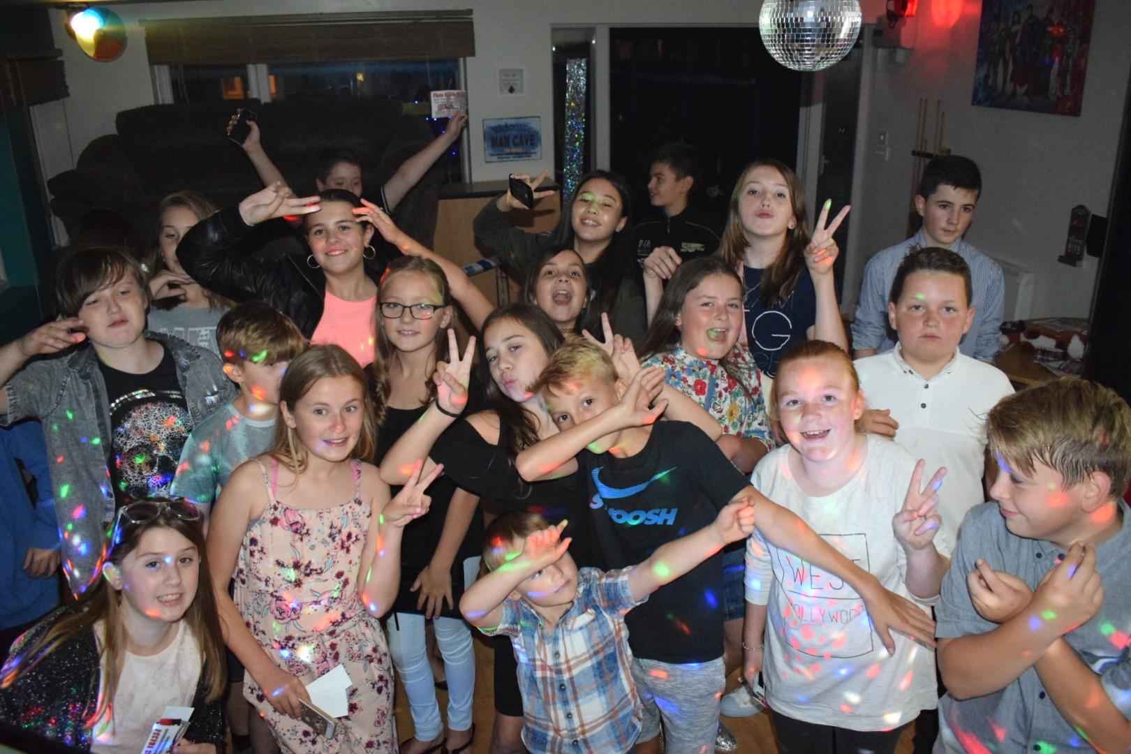 Teenage Discos always a hit !
